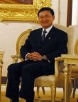 Thaksin the democracy symbol and poor people leader